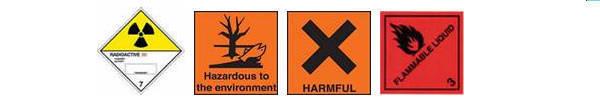 hazchem labels