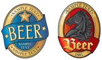Custom Printed Beer Bottle Labels